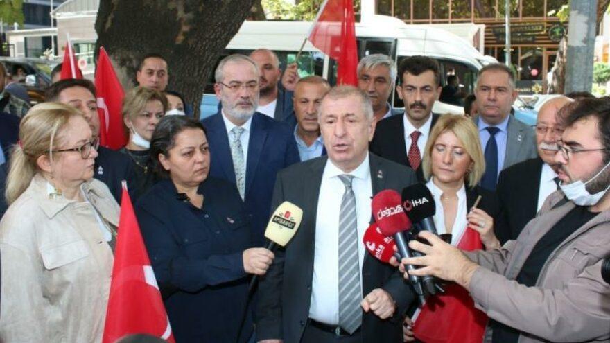 Ümit Özdağ'dan iktidara sert tepki: Mahkemeye başvuracağız