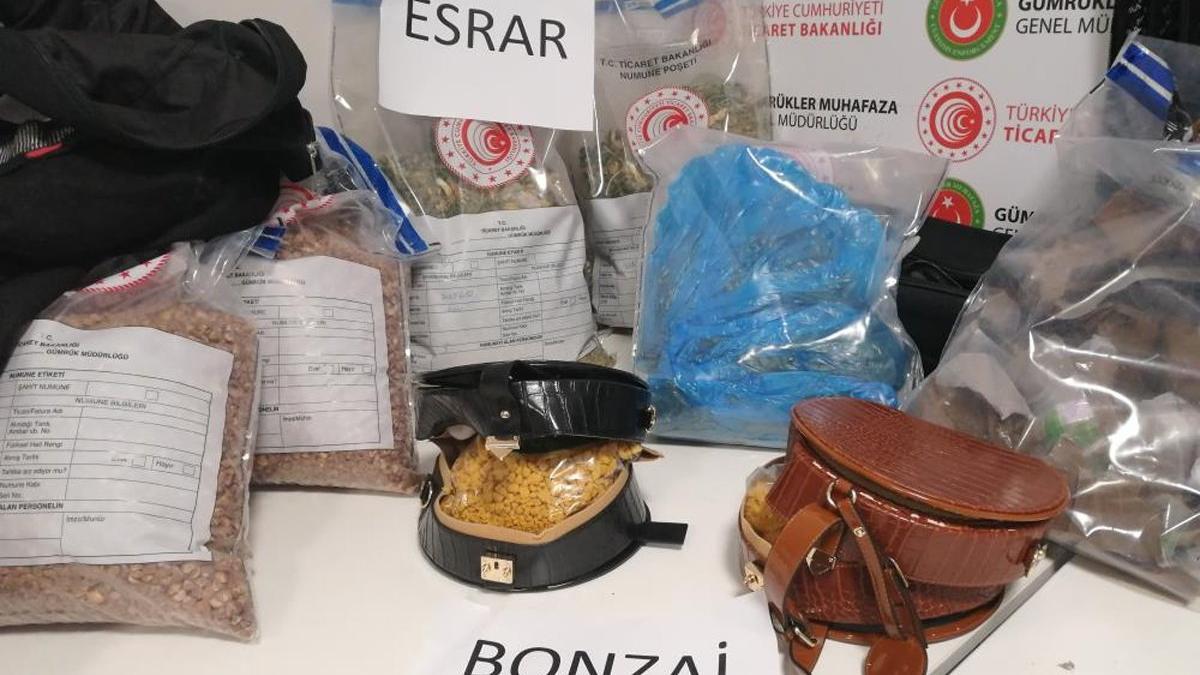 Çikolata ve çay kutularından kilo kilo uyuşturucu çıktı