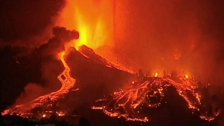 La Palma Adası felaket bölgesi ilan edildi