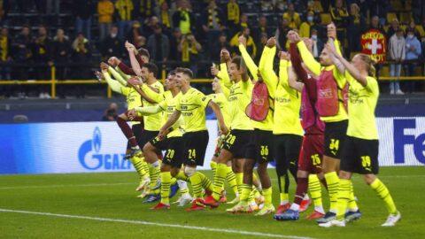 Dortmund, Devler Ligi'nde tam gaz!
