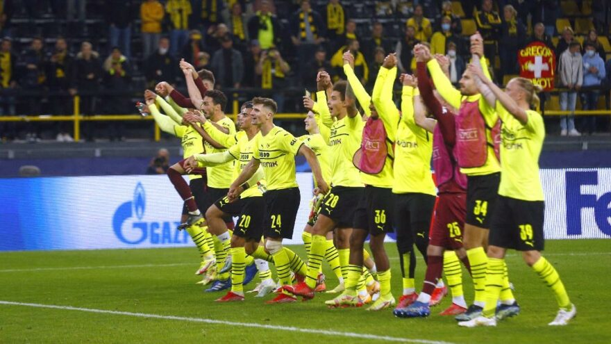 Borussia Dortmund, Sporting'i tek golle geçti: 1-0