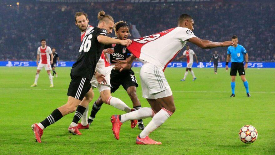 Beşiktaş, Ajax'a direnemedi: 2-0