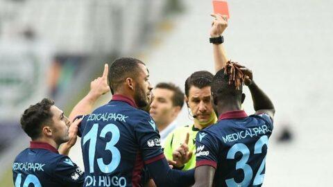 Trabzonspor'dan ilginç performans! 10 kişi kalsa da...