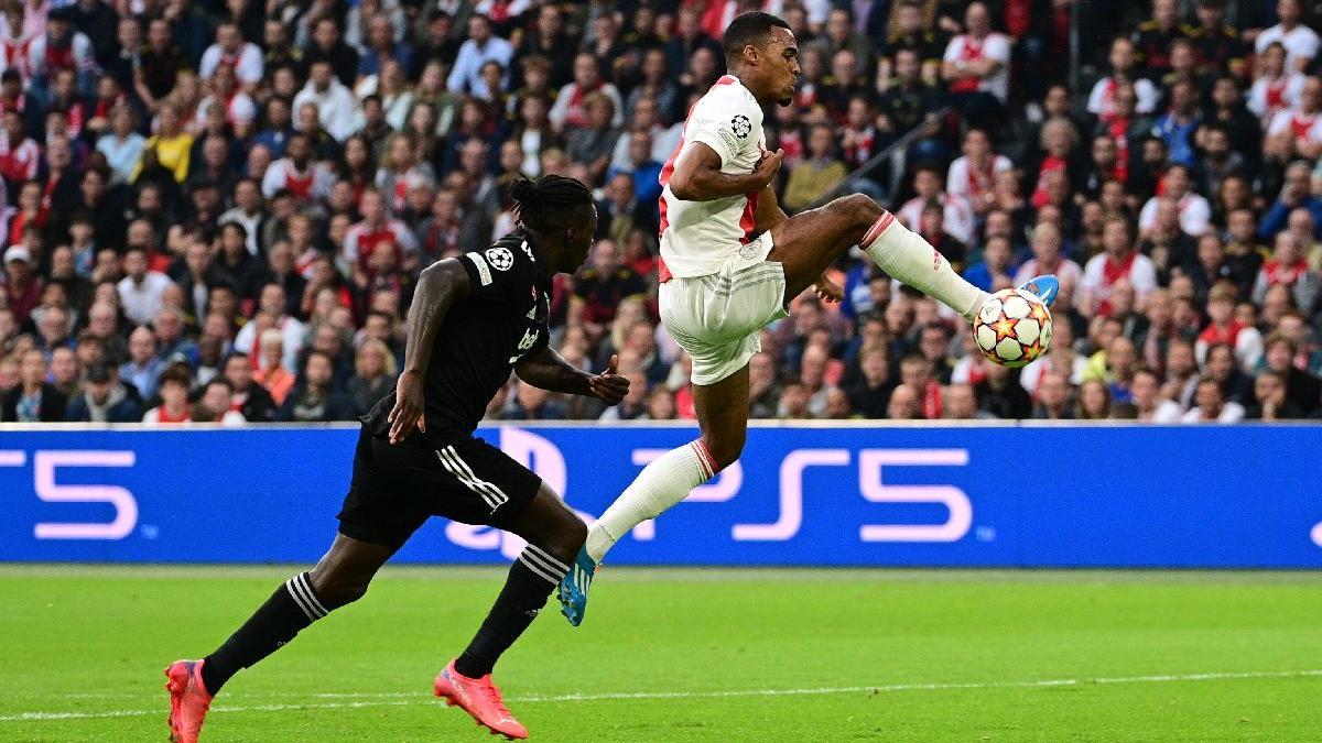 UEFA Şampiyonlar Ligi'nde Ajax'ın golcüsü Haller Beşiktaş maçında tarihe geçti