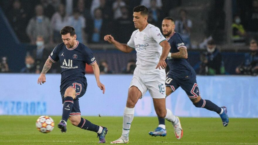 PSG-Manchester City maçında Lionel Messi müthiş golle siftah yaptı