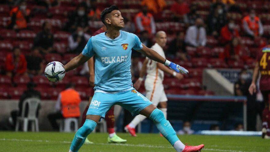 Göztepe kalecisi İrfan Can Eğribayat, Galatasaray'dan yediği gol için konuştu