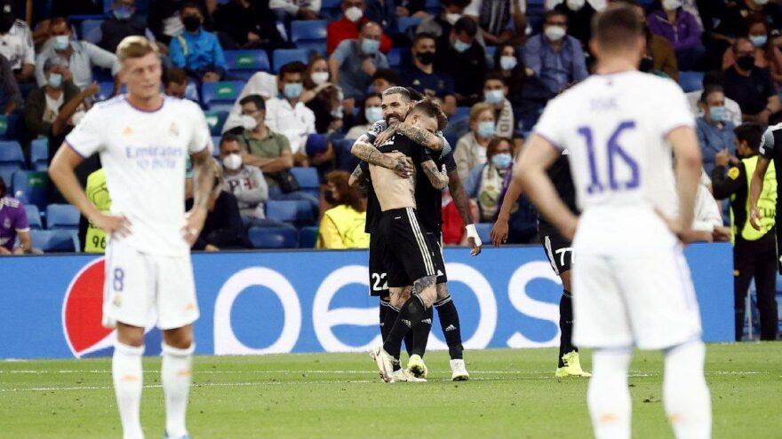 Şampiyonlar Ligi'nde sürpriz! Sheriff Tiraspol, Real Madrid'i bozguna uğrattı
