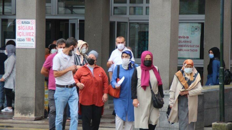 Rize'de bir haftada karantinadan kaçan 18 kişi otele yerleştirildi