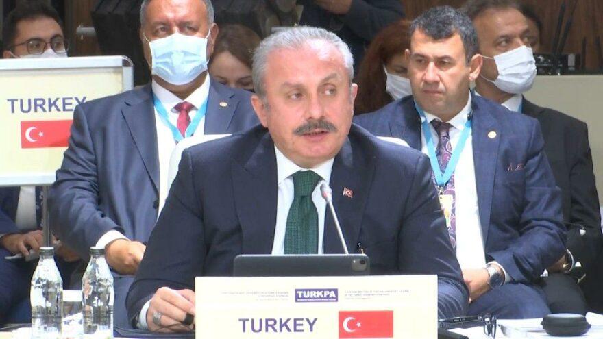 Şentop'tan Türki cumhuriyetlerine FETÖ uyarısı