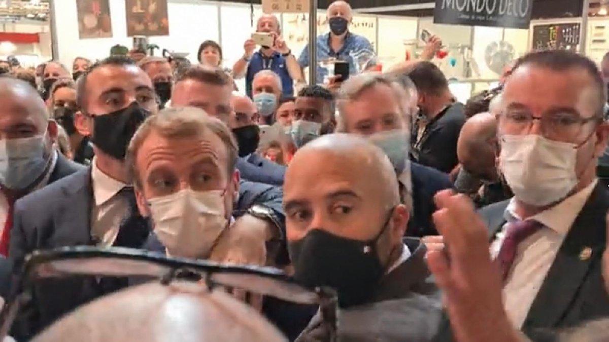 Macron'a yumurta atan saldırgan psikiyatrik tedaviye alındı