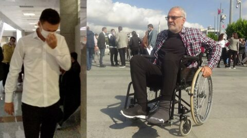 12'nci kattan attığı esnaf tekerlekli sandalyeye mahkum o ise özgürce geziyor
