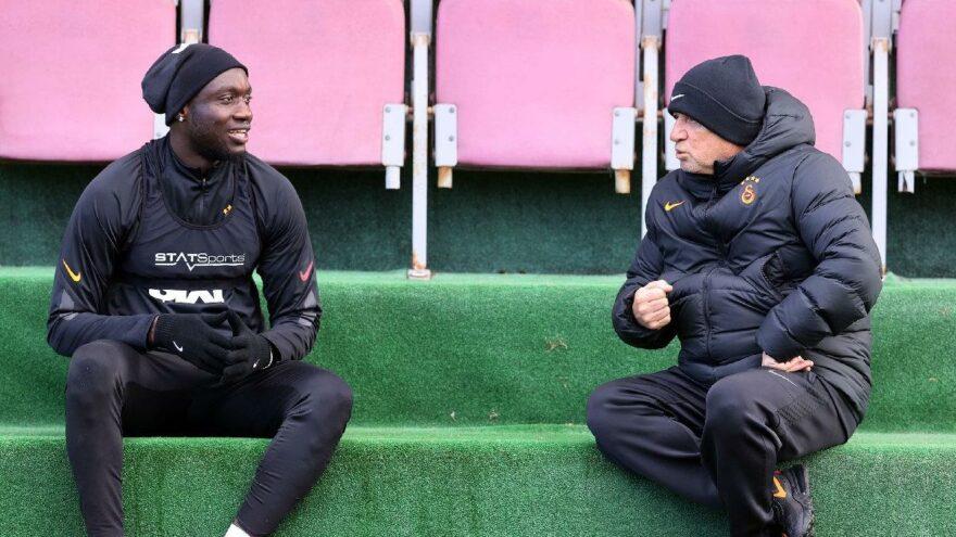Mbaye Diagne açıkladı: 'Kulüp veya Fatih Terim'le ilgili değildi'