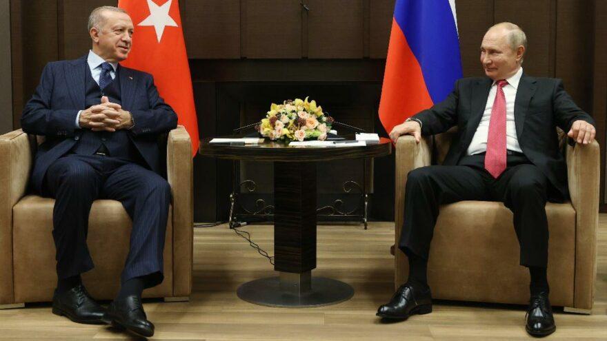 Erdoğan ve Putin bir araya geldi: Putin'den kameralar önünde itiraf