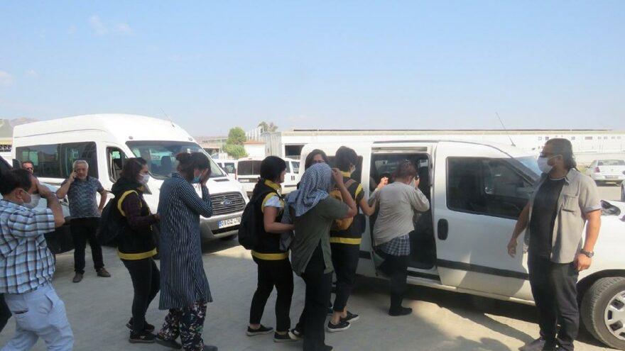 Yankesicilik yapan aynı aileden 4'ü kadın 5 şüpheli yakalandı