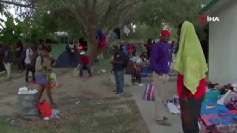 ABD'den sınır dışı edilen Haiti göçmenler yaşam savaşı veriyor