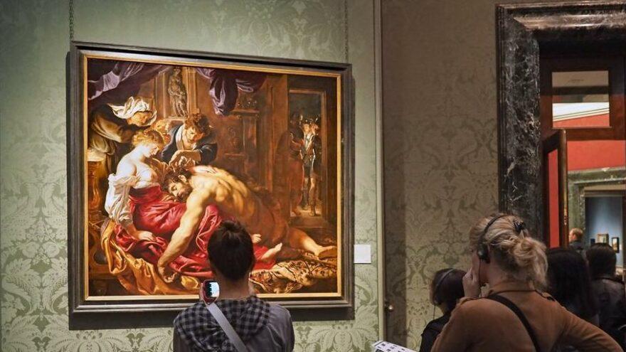 Yıllardır sahte tablonun sergilendiğini yapay zekâ ortaya çıkardı