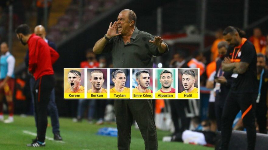Galatasaray yerli iskeletini oluşturdu! İşte Terim'in evlatları…