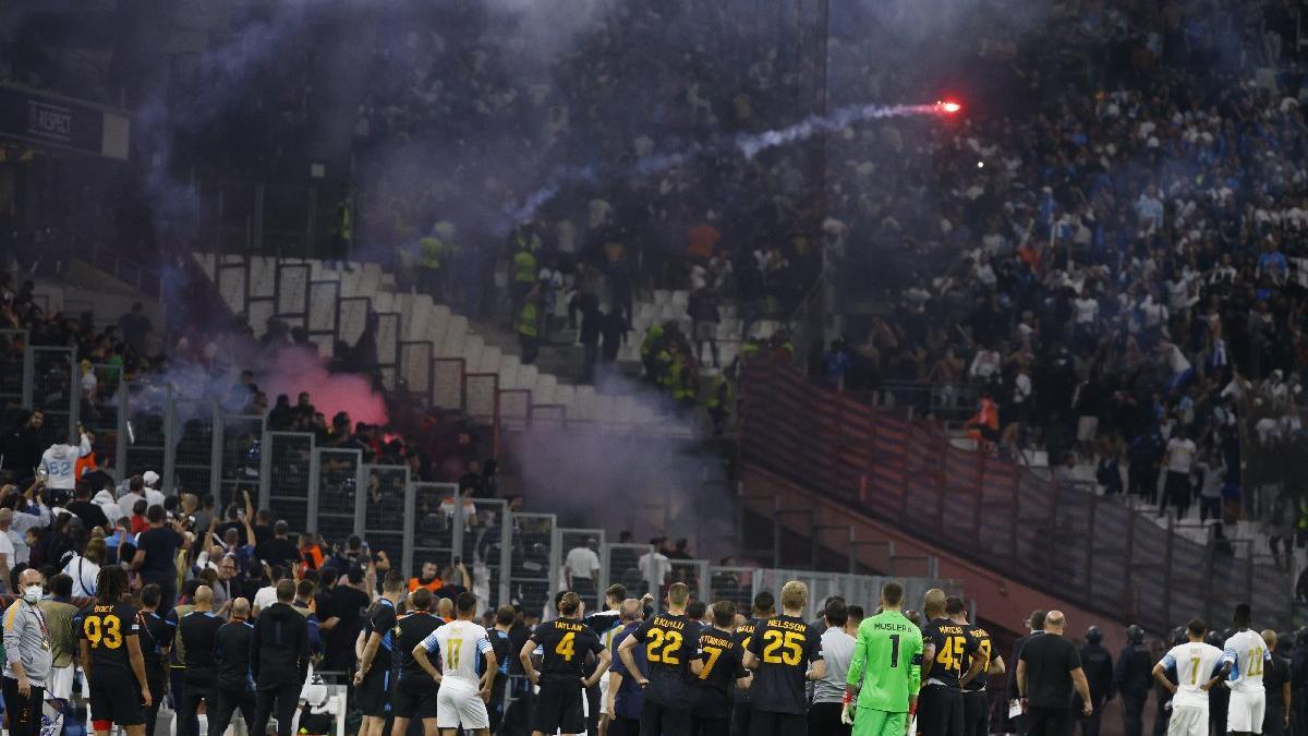 Fatih Terim, Marsilya-Galatasaray maçındaki olaylara müdahale etti