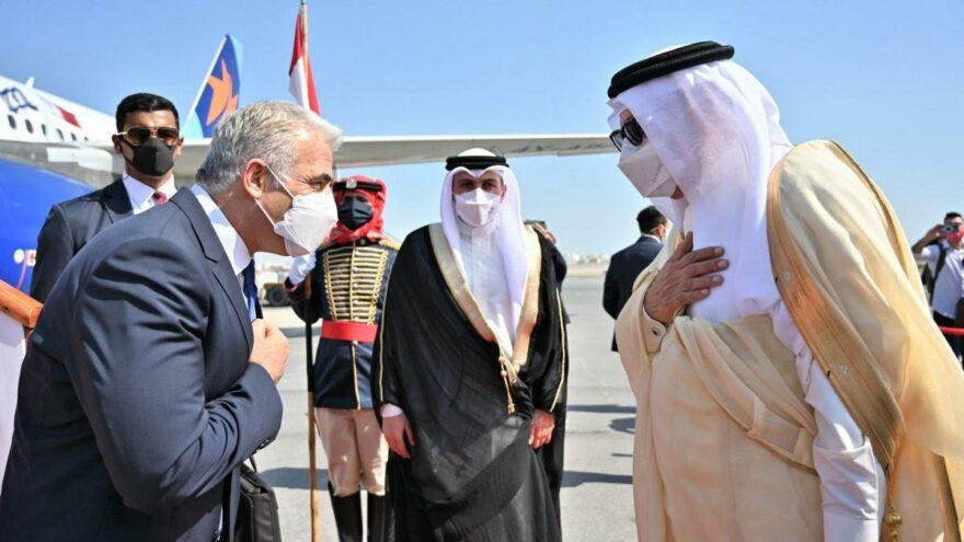 İsrail'den Bahreyn'e ilk resmi ziyaret