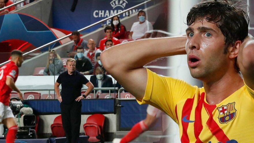 Barcelona resmen dağıldı… Şampiyonlar Ligi'nde averaj takımı oldu
