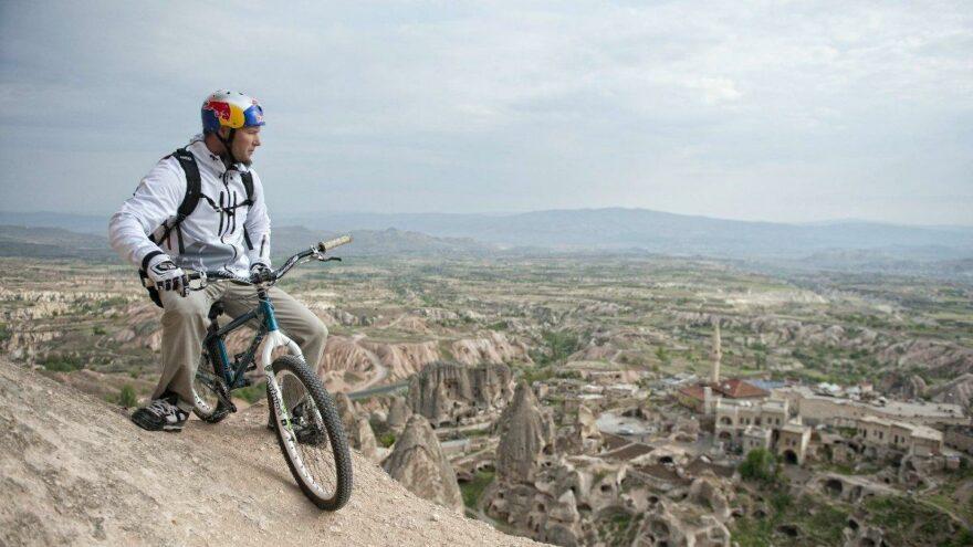 Türkiye'nin ilk 3 disiplinli dağ bisikleti yarışı Kapadokya'da yapılacak