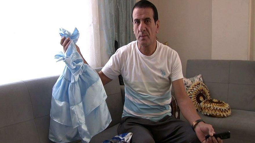 Eşi için sipariş verdi, paketten çocuk elbisesi çıktı