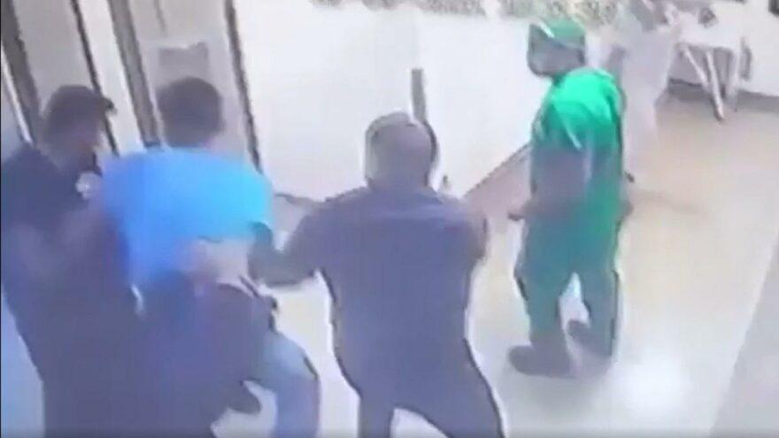 Hastaneyi basıp yoğun bakım hemşiresini vurdu