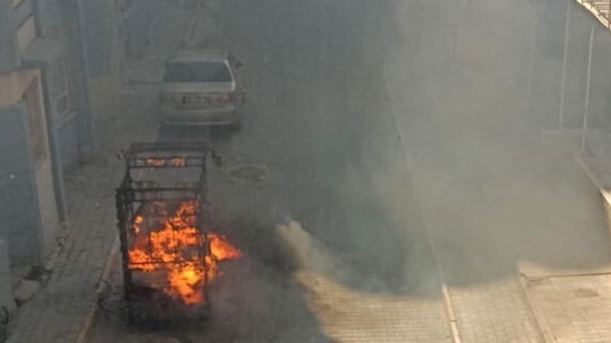 Torbalı'da Suriyelilere ait ev ve araçlar yakıldı