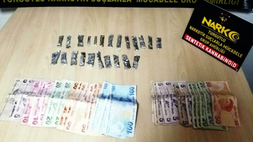 Manisa'da uyuşturucu ticaretine 6 gözaltı