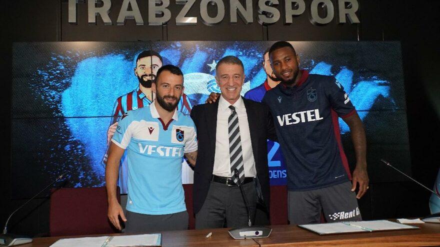 Trabzonspor, Siopis ve Denswil için imza töreni düzenledi