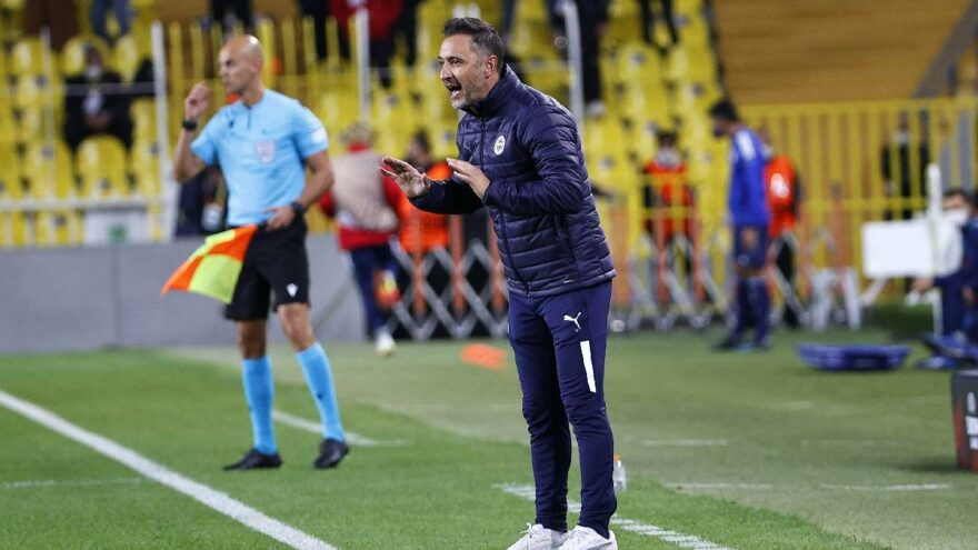 Vitor Pereira: 'İkinci gol taktiksel dengemizi kaybettirdi'
