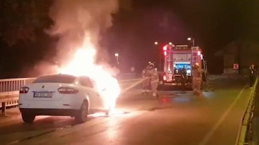 İtfaiyeden araç yangınlarına karşı sürücülere uyarı