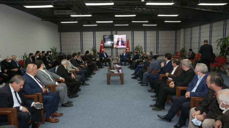Oğuzhan Asiltürk'ün taziyeleri Saadet Partisi Genel Merkezinde kabul edildi