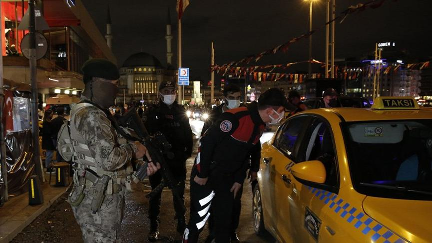 İstanbul'un 39 ilçesinde helikopter destekli 'Yeditepe Huzur' denetimi