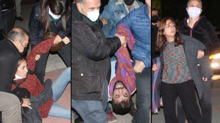 İki kez emniyette sabahlayan öğrencilerin 'Barınamıyoruz' eylemi sona erdi