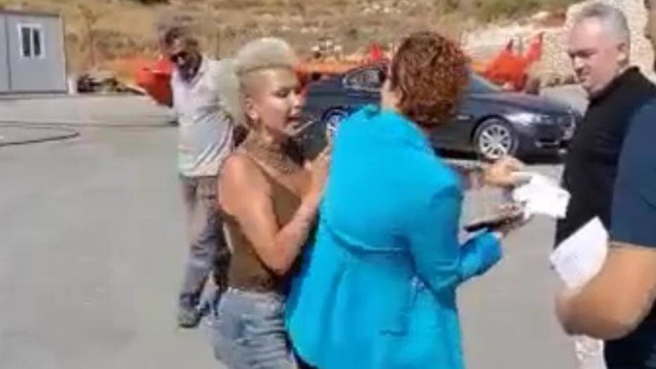 Kadınlar arasında yaşanan şiddet kamerada