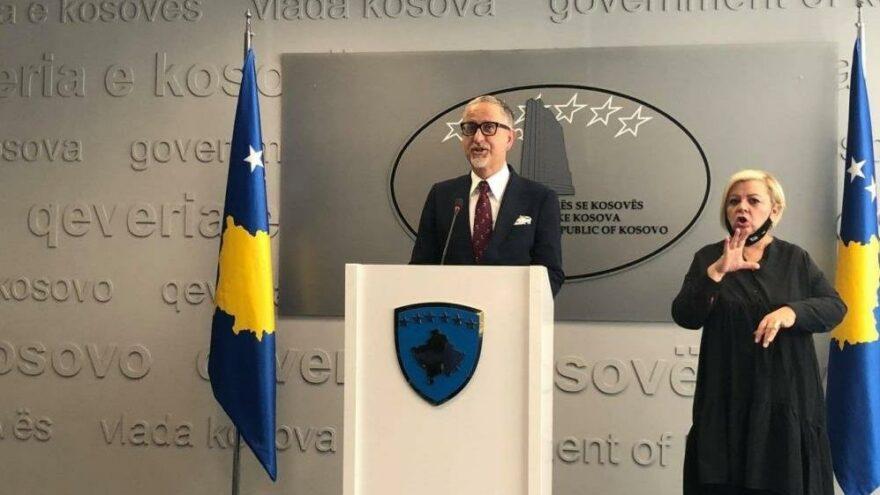 Kosova Sağlık Bakanı Vitia istifa etti