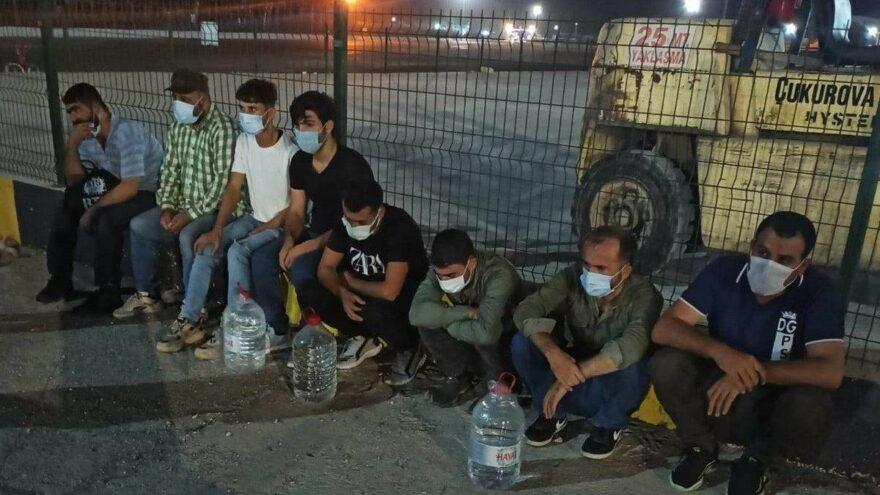 Mersin'de yasa dışı yollardan KKTC'ye kaçmaya çalışan 8 mülteci yakalandı