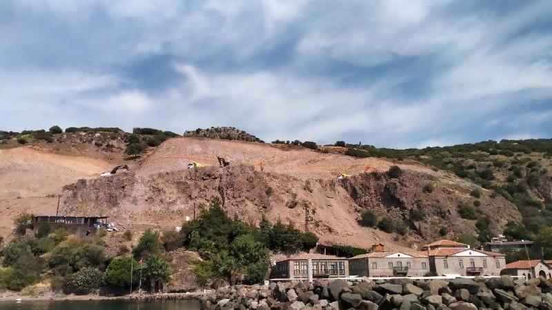 """""""Asos'ta alan açmak için arkeolojik alanlar tahrip ediliyor"""""""