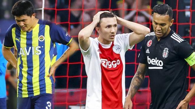 Türk futbolu yine geriledi! Artık Avrupa Ligi de hayal...