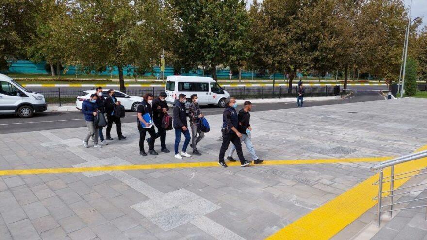 Yunanistan'a kaçmaya çalışan FETÖ üyeliğinden hükümlü 5 kişi yakalandı