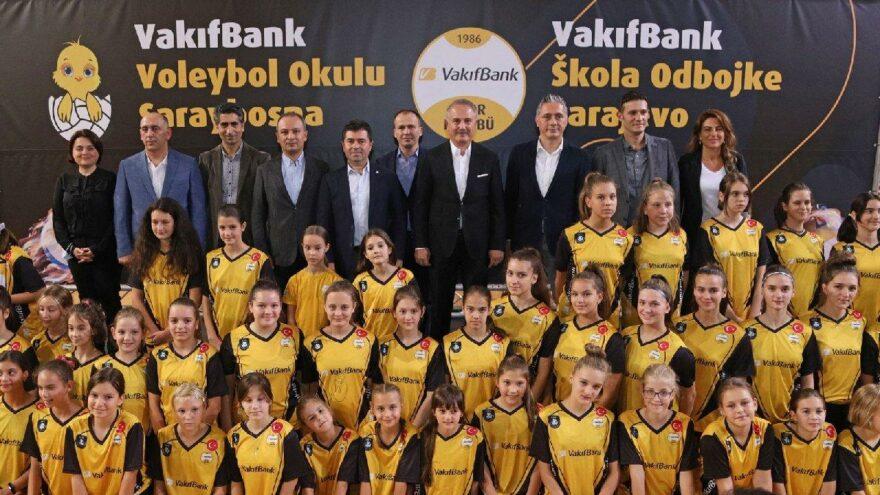 VakıfBank Spor Kulübü'nden Saraybosna Voleybol Okulu'na üst düzey ziyaret