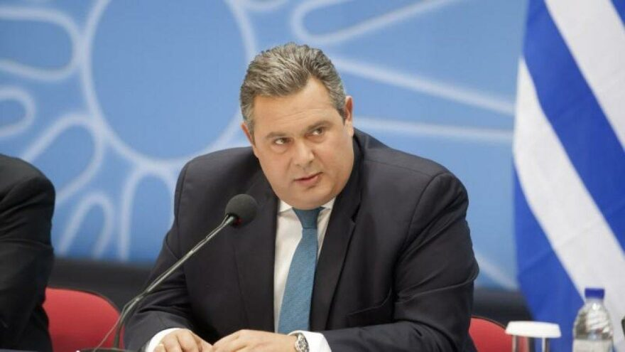 Eski Yunanistan Savunma Bakanı Panos Kammenos: Türkiye ile sıcak çatışma kaçınılmaz