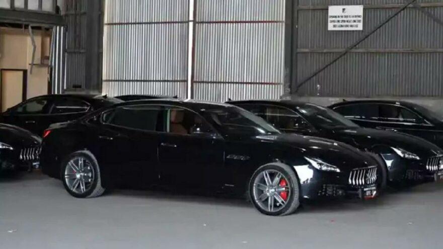 Zirve için almışlardı… Papua Yeni Gine'daki 40 araçlık Maserati filosu bu kez zararına satışta