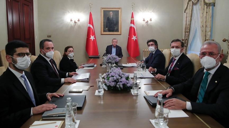 Cumhurbaşkanı Erdoğan, Türkiye Varlık Fonu toplantısına katıldı