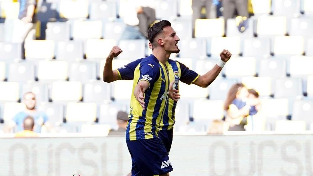 Mergim Berisha, Fenerbahçe'de ilk golünü attı
