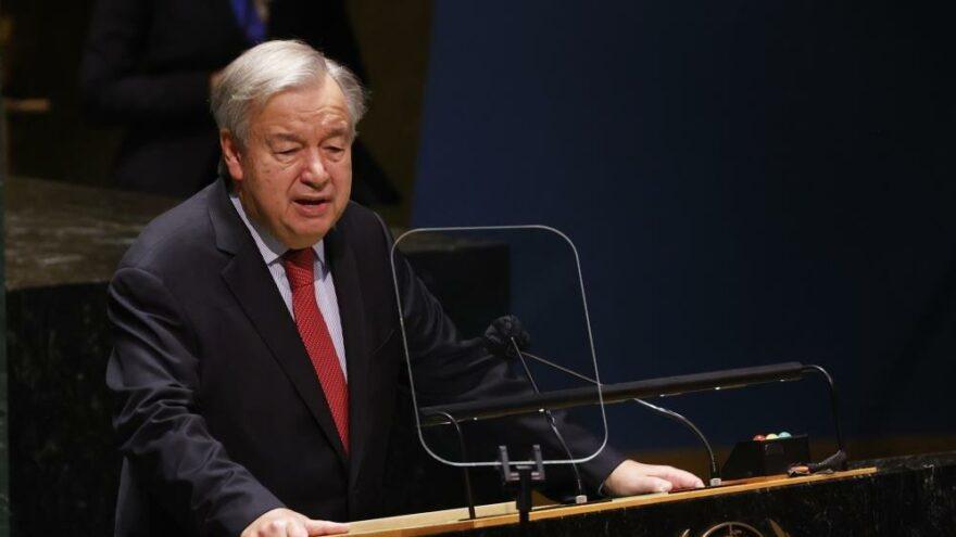 Guterres'ten 'Kıbrıs Özel Temsilcisi' önerisi
