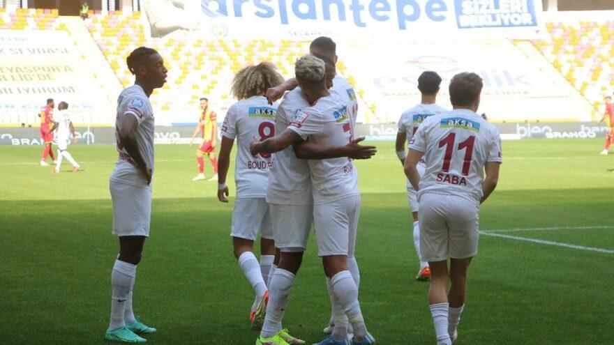 Hatayspor, Yeni Malatya deplasmanında 3 puanı 2 golle aldı