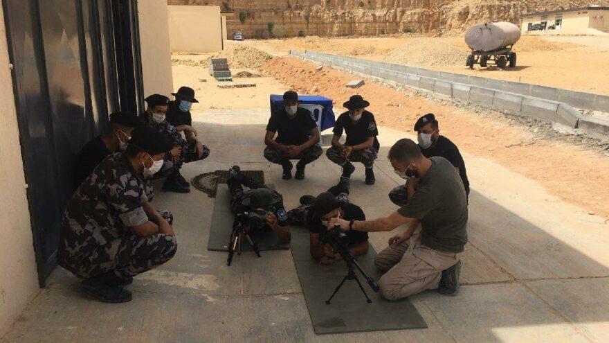 MSB: Libyalı askerlere keskin nişancı eğitimi verildi