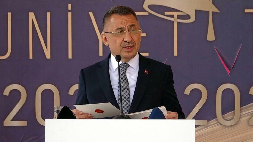 Cumhurbaşkanı Yardımcısı Oktay'dan öğrenci yurdu açıklaması